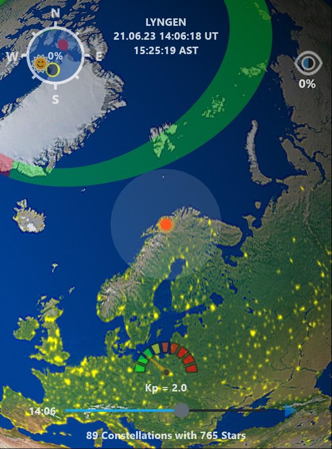 Polarlicht Vorhersage
