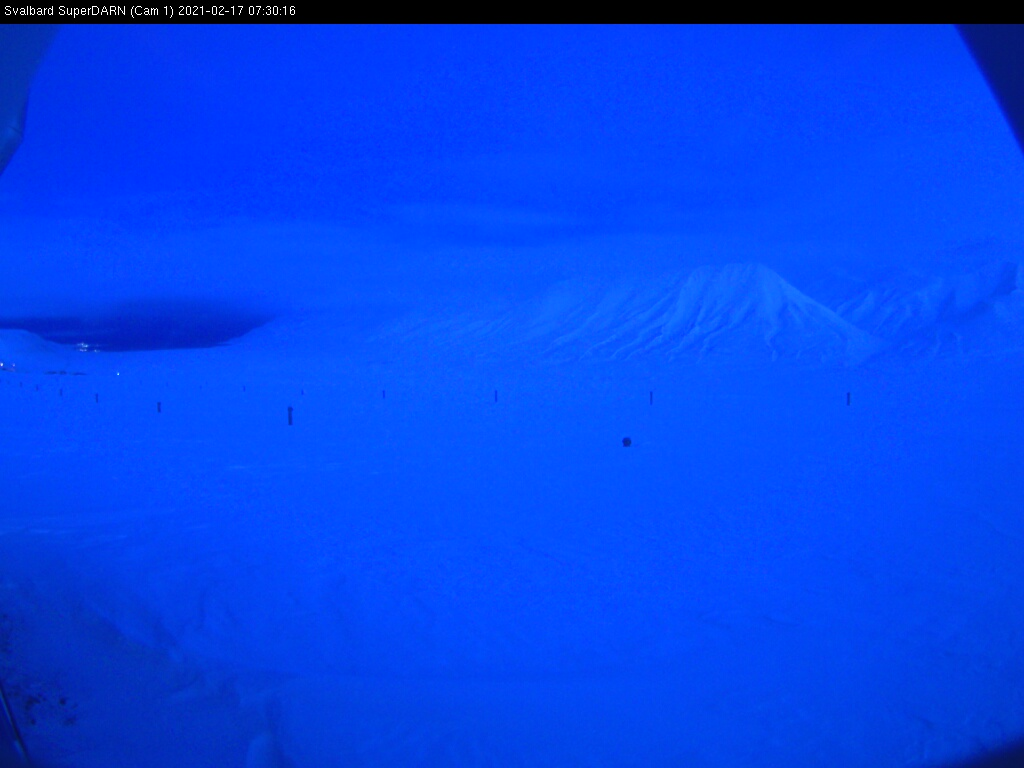 Web Camera is located in Svalbard.