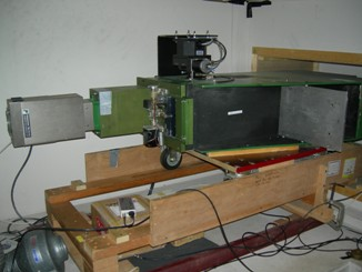 Photo of the 1m 'Green' Ebert-Fastie Spectrometer